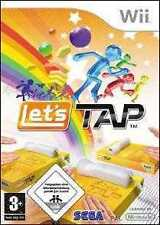 Nintendo Wii +Wii U LETS TAP * 5 GAME PARTY SPIELE BRANDNEU