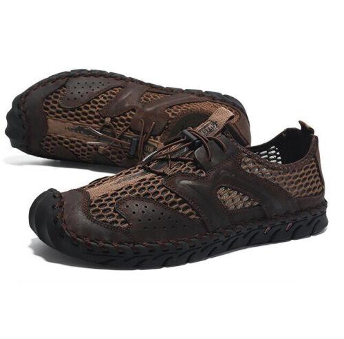 Men Mesh Running Sport Trainers Water Hiking Sneakers Breathable Casual Handmade