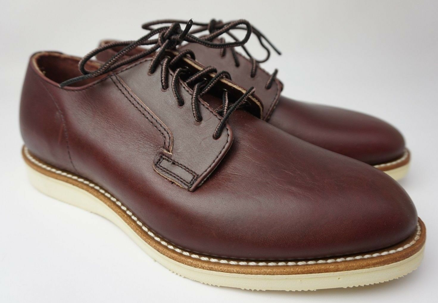 Red Wing Postman 3117 Oxford Merlot Burgundy Leather shoes Size US 8 D