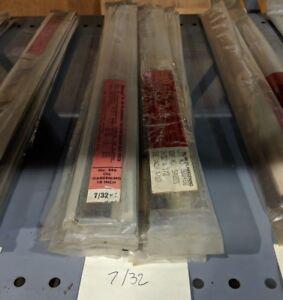 """STARRETT Oil Hardening Precision Ground Flat Stock 7//16/"""" x 1//2/"""" x 18/"""""""