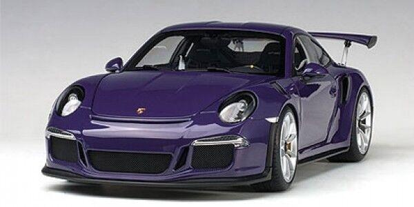 Autoart Porsche 911 991 gt3 rs Ultraviolet 1 18 2016 78169