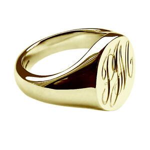 Bespoke Gold Signet Rings