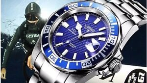Loreo Top Shark Series Men Automatic Watches 200m Waterproof 2 Years Warranty Ebay