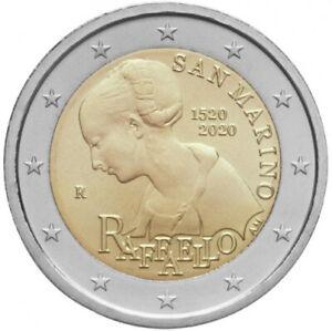 Sondermuenzen-San-Marino-2-Euro-Muenze-2020-Raffaello-Raffael-Sondermuenze
