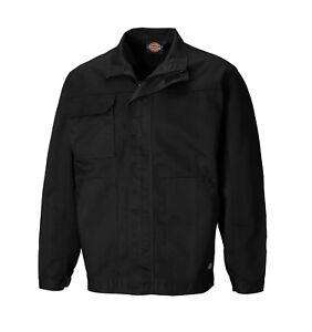 Dickies-Chaqueta-de-trabajo-diario-negro-tamanos-XS-XXXXL-Para-hombres-abrigo
