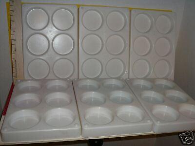 Heavy Duty Paint Trays LOT set of 6 Jumbo size #1045