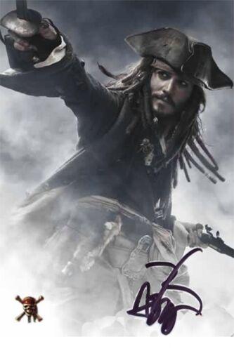 ++Fluch der Karibik++3 Jonny Depp +Autogramm+