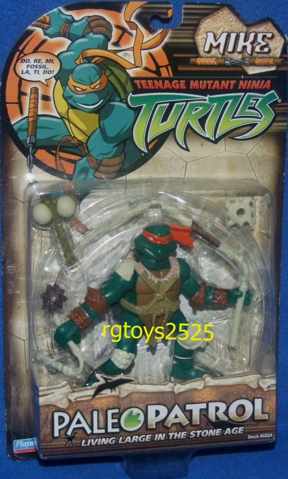 Teenage Mutant Ninja Turtles 5  Paleo Patrol Mike Michelangelo New Factory Seal