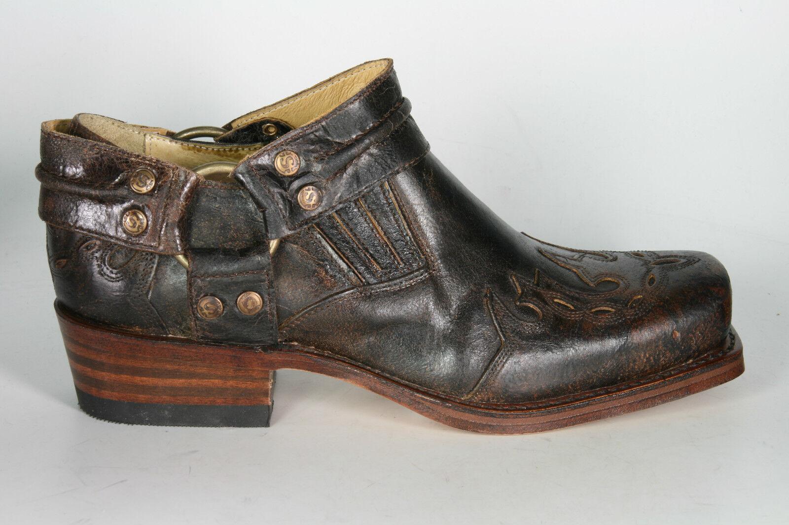 6077 Sendra Biker zapatos zapatos zapatos con llama barbados botas motorista rahmengenähte zapatos de piel b0e0c6