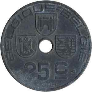 Moneda-Belgica-25-centimos-1942-WT4525