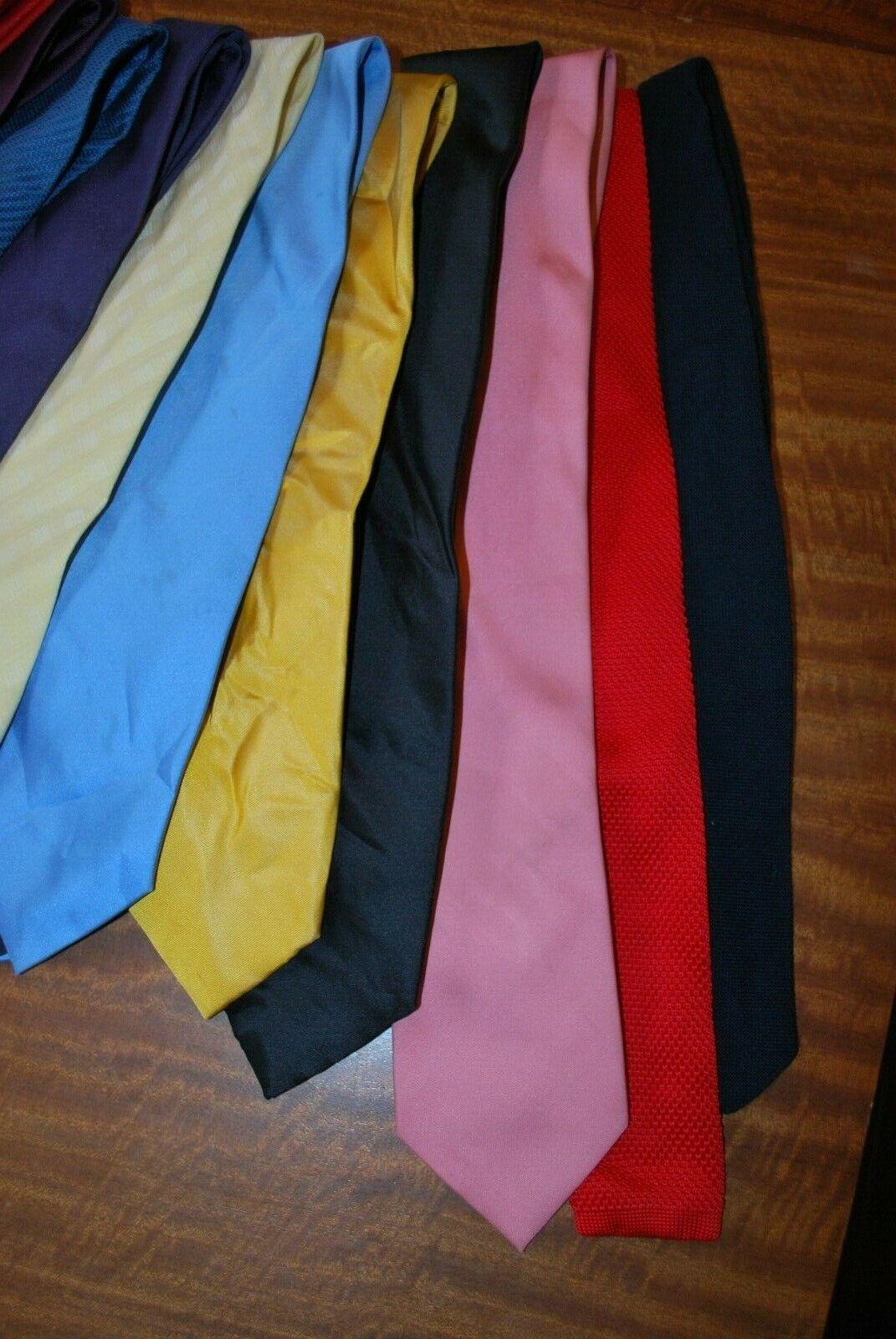 15 x various coloured Tie's job lot bulk buy 7