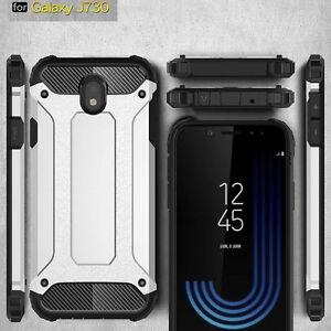 Pour-Samsung-Galaxy-J3-J5-J7-Pro-2017-Antichoc-Protection-Armure-Etui-Rigide