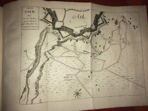 ( Belgique) Plan De La Ville D'ath, 1697. AgréAble Au Palais