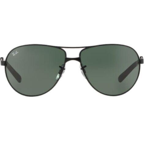 Men's Black RayBan Aviator Sunglasses