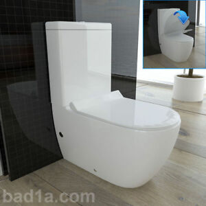 stand wc mit taharet bidet funktion geberit sp lgarnitur sp lkasten komplett ebay. Black Bedroom Furniture Sets. Home Design Ideas
