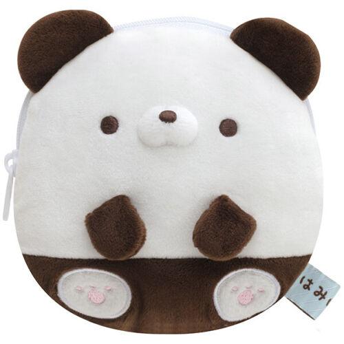 Hamipa Panda Plush Coin Case Pouch Hamipanoseitai San-X Japan