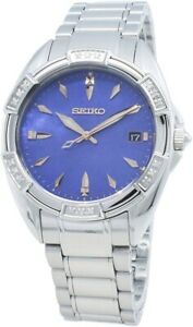 Seiko Ladies Watch with Stainless Steel Bracelet SKK881P1