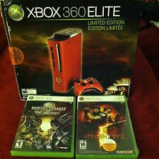XBOX 360 Elite Resident Evil 5 RED Console BRAND NEW w/ Games *MAKE A OFFER*