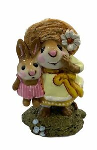 """Wee Forest Folk: """"Miss Daisy"""" Yellow Dress, Collectibles, M-182"""