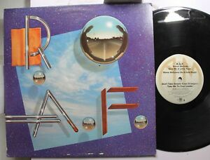Rock-Promo-Lp-R-A-F-Self-Titled-On-A-amp-M