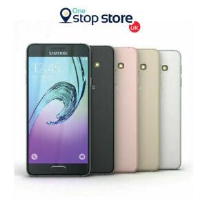 Samsung-Galaxy-A3-2016-16GB-4G-Telefono-inteligente-Desbloqueado-Android-NFC-Negro-Oro-SM-A310