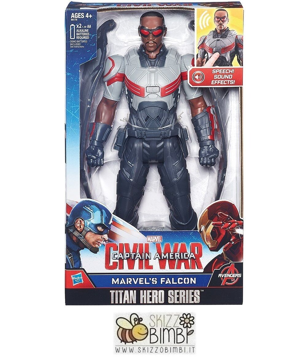 Marvel Avengers personaggio elettronico Falcon Captain America