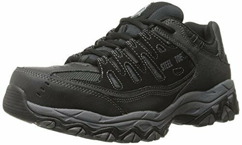 Skechers for Work Mens Cankton-U Industrial schuhe- Pick SZ Farbe.