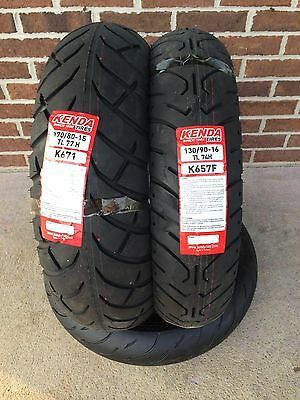 Kenda 130-90-16 & 170-80-15 MOTORCYCLE TIRE SET YAMAHA V-STAR XVS 1100 CLASSIC
