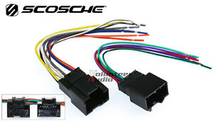 details about chevy aveo car stereo cd player wiring harness wire aftermarket radio install Mustang Headlight Wiring Harness