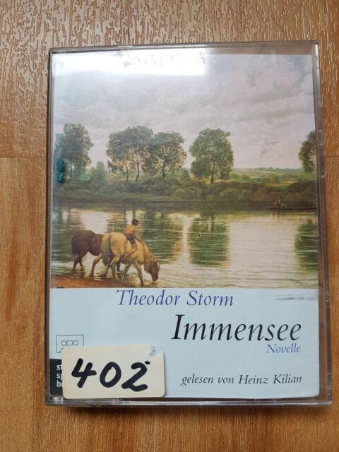 Hörbuch 1 MC Immensee Theodor Storm 65 Minuten Spielzeit