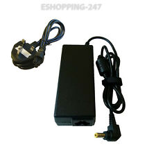 19V 4.74A 90W FOR TOSHIBA LAPTOP CHARGER satellite A660-15T + POWER CORD