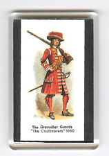 GRENADIER GUARDS UNIFORM 1660  FRIDGE MAGNET