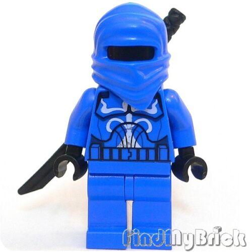 SW425 Lego Custom Ninjago Blue Ghost Ninja Bounty Hunter Minifigure NEW