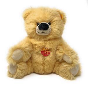 Steiff-Kuschel-Baer-Teddy-gelb-ca-22-cm-Nr-022203-kuschelweich-und-neuwertig