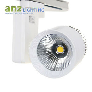 Details About Commercial 20w Track Lighting Single Circuit 3 Wire 24 Degree Bean Angle Nondim