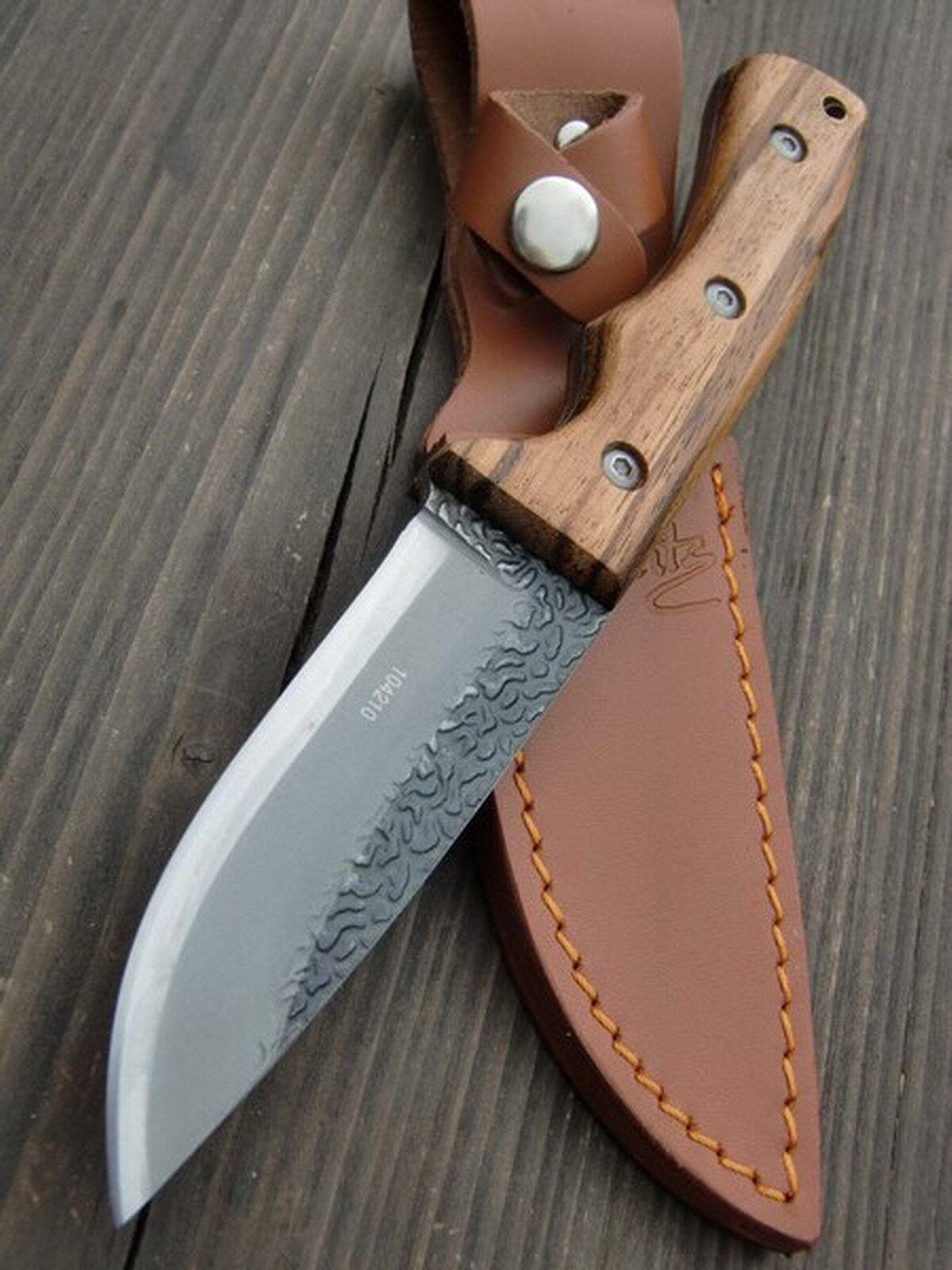 HERBERTZ - Jagdmesser Messer Messer Messer - Gürtelmesser Fahrtenmesser + Lederscheide -104210 d47c42
