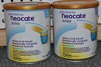 2 Cans Neocate Junior Tropical Nutricia Powder Jr Formula Free Priority Afbb