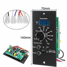 Digital Thermostat Pellet Grill Control Board For Traeger BAC236 120V Dual RTD
