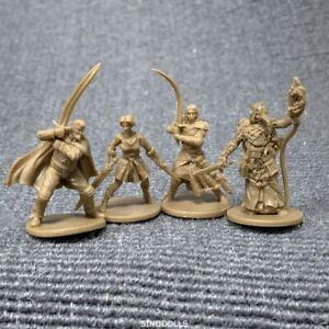 10pcs 28mm Golden DND Dungeons /& Dragon D/&D Marvelous Miniatures War game figure