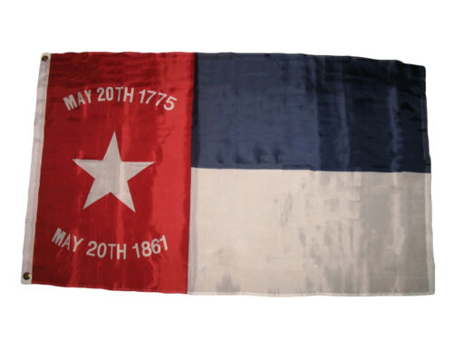 3x5 North Carolina Republic Flag 3'x5' May 20th 1775-1861 Banner Grommets