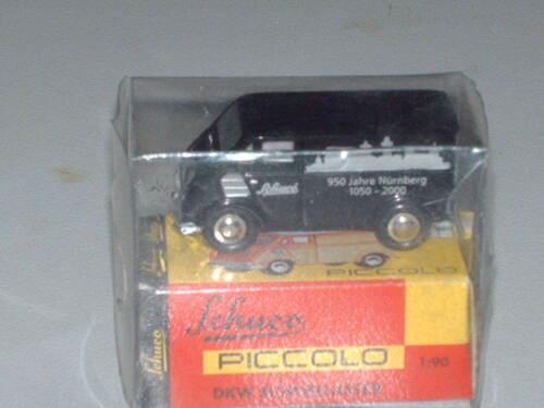 """Schuco Piccolo /""""950 años de nuremberg/"""" DKW schnellaster nuevo 01557 embalaje orig"""