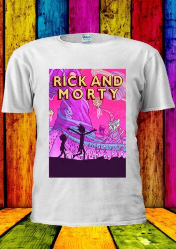 Rick e Morty avventura divertente T-Shirt Marty CANOTTA TANK TOP uomini donne unisex 2250