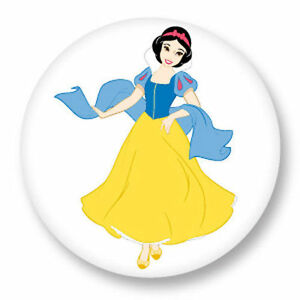 Détails Sur Magnet Aimant Frigo ø38mm Bd Dessin Animé Walt Disney Blanche Neige Princesse