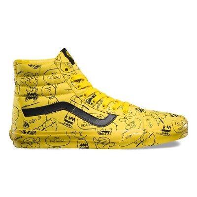 VANS Sk8 Hi Charlie Brown Peanuts Snoopy Jaune UK 4 US 5 EUR 36.5 Old Skool OG | eBay