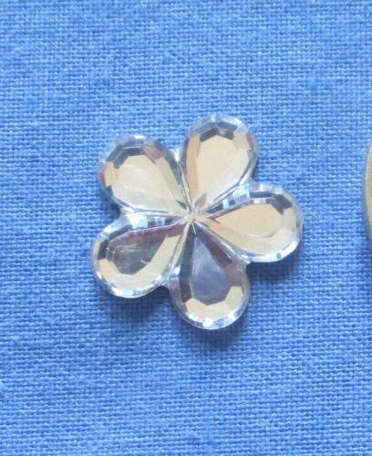 15mm Flower Shape Rhinestone acrylic Rhinestone for clothes Scapbooking Crystal