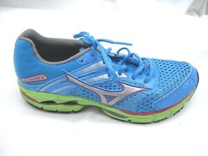 Mizuno-size-9M-Wave-Inspire-9-blue-womens-ladies-running-tennis-athletic-shoes