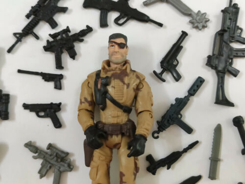 "3.75/"" Gi Joe Lanard the Corps Soldier#088w// Accessories Action Figure"