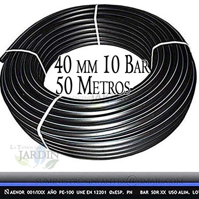 Poolleiter Polyethylen Essen 40MM 10 bar 50 M Hoch Dichte 40 mm Rohr Bewässerung