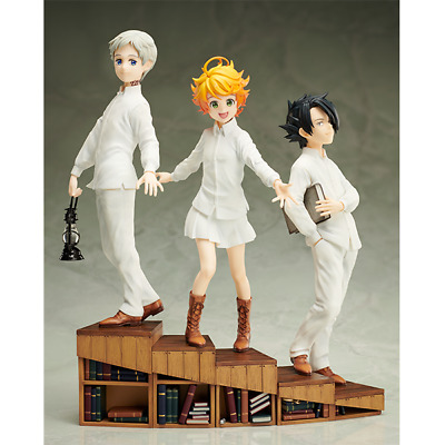 Aniplex The Promised Neverland 1 8 Scale Figure Norman Emma Ray 3 Set F S Japan Ebay