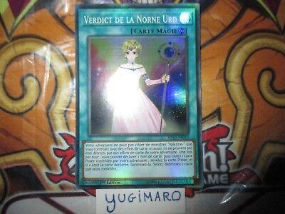 Valkyrie ♦Yu-Gi-Oh!♦ Verdict de la Norne Urd VF//Super Rare SHVA-FR010